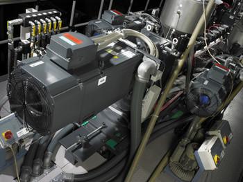 KSH100 extruder motor