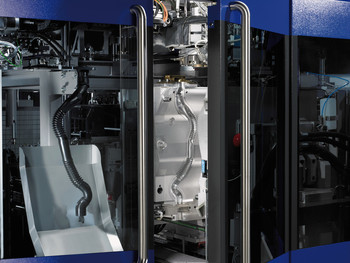 KSB10 closing unit with mold